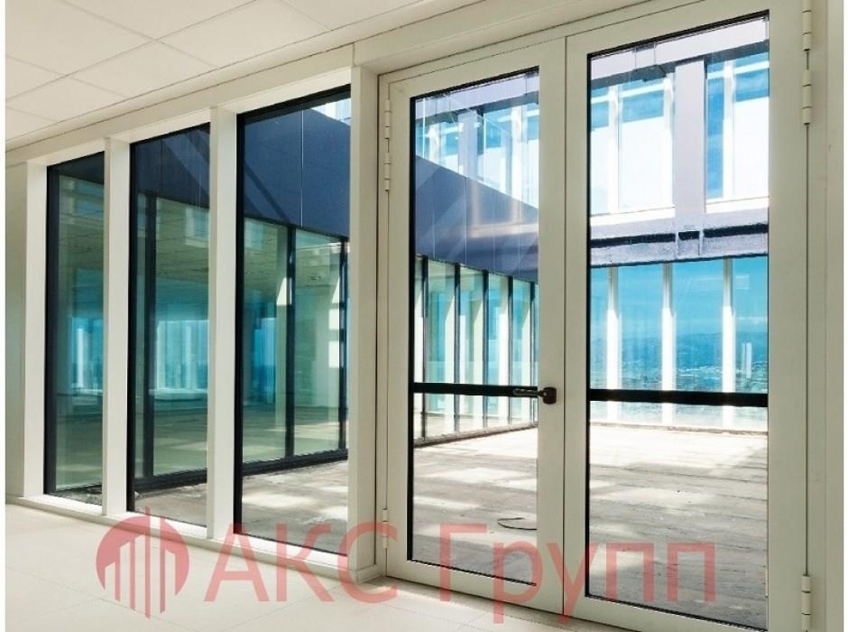 Противопожарные алюминиевые двери EIWS 30         Наружные