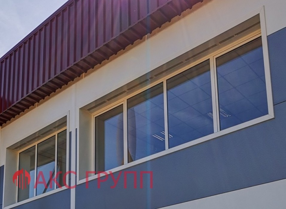 Противопожарные окна E(EI,EIW) 30