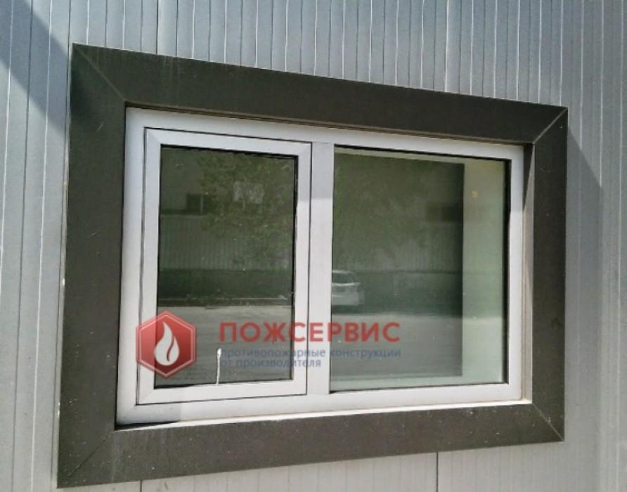 металлические окна противопожарные