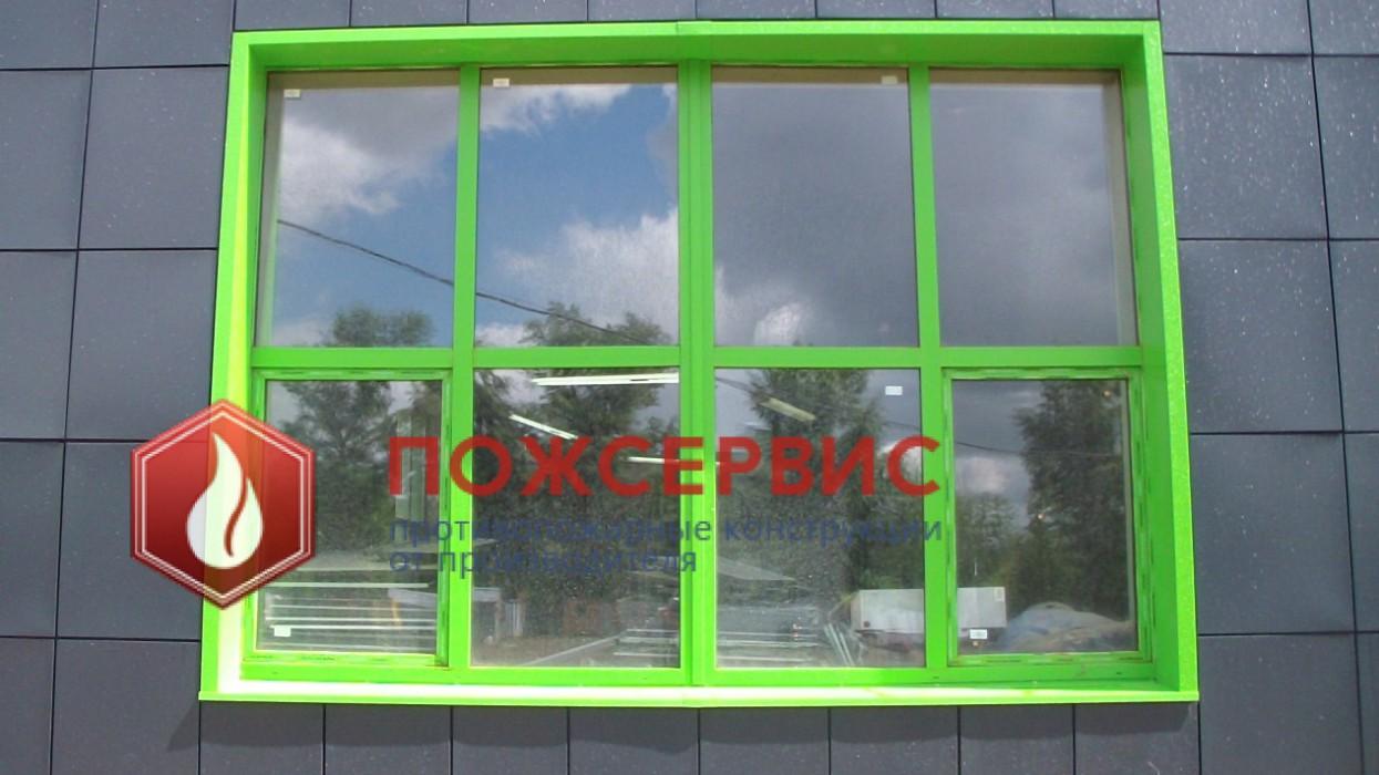 противопожарные перегородки окна