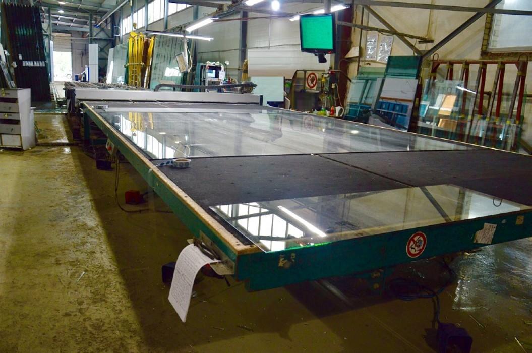 Автоматизированный раскрой листового стекла