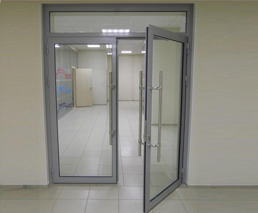 Алюминиевые двери ALUTECH W48