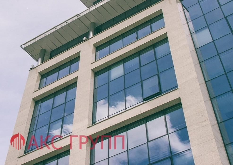 Противопожарное окно фасадного остекленеия