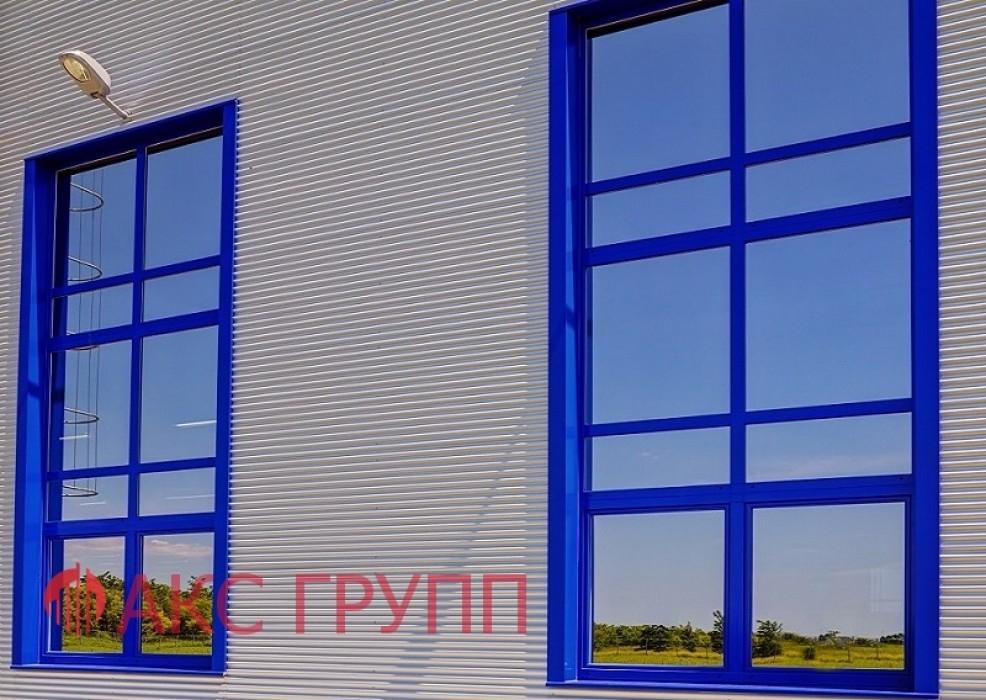 Противопожарное окно Е60 для промышленных зданий