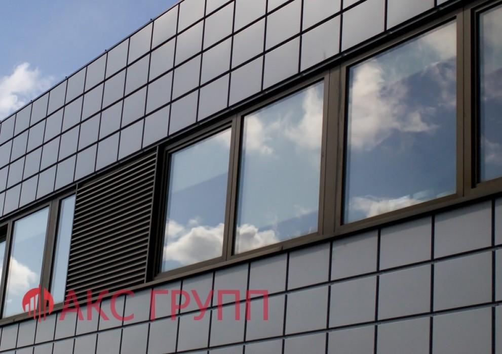 Противопожарное окно Е60 наружное