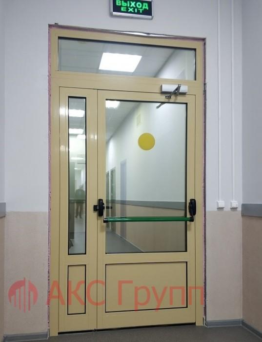 Противопожарные двери EIWS 30 алюминивеые
