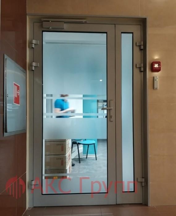 Алюминиевые противопожарные двери EIWS 30