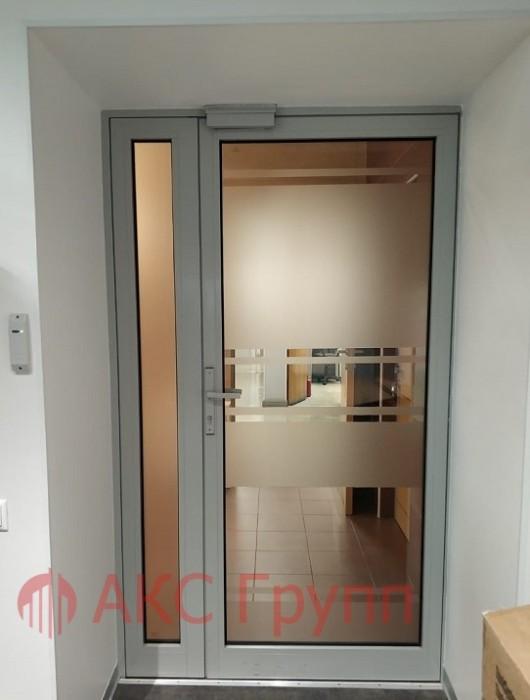 Противопожарные алюминиевые двери EIW30